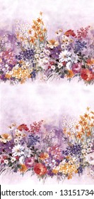 flowers desing abstrac floral.rabric