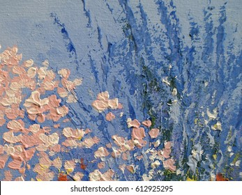 Oil Painting Flowers Images Stock Photos Vectors