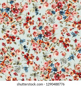 flowers pattern floral