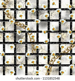 Flowers pattern. For textile, Flowers, Floral, covers, surface, print, gift wrap,scarf,baroque,geometric