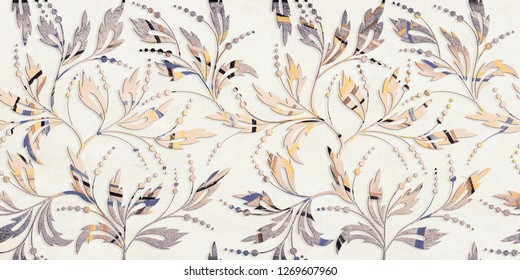 Flowers Seamless Pattern colorful