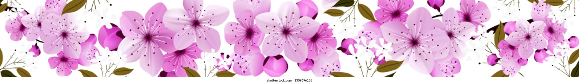 flowers, skinali, on a white background