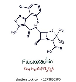 Flucloxacillin (INN) or floxacillin (USAN) is a narrow-spectrum beta-lactam antibiotic of the penicillin class. It is used to treat infections caused by susceptible Gram-positive bacteria.
