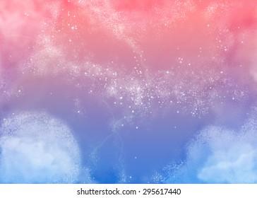 Fluffy Pink Sky