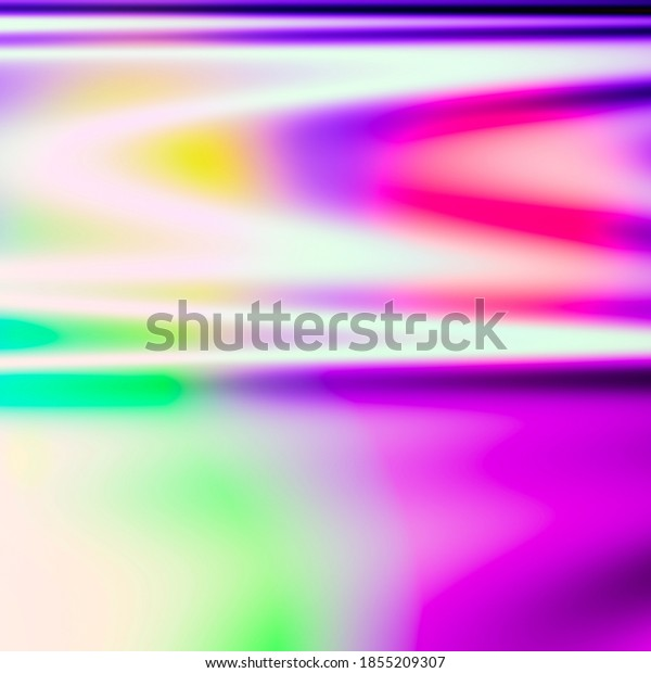 Fluid art colorful bright party card design