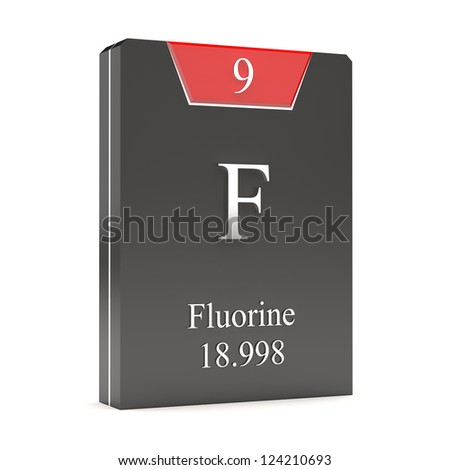 Fluorine F 9 Periodic Table Stock Illustration 124210693 Shutterstock