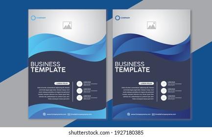 Flyer brochure design, business flyer size A4 template, creative leaflet
