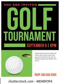 golf tournament invitation images stock photos vectors shutterstock