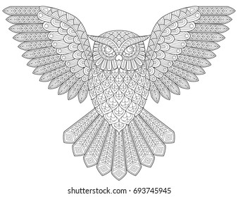 500+ Owls Coloring Pictures   Royalty Free Images, Stock Photos, and ...