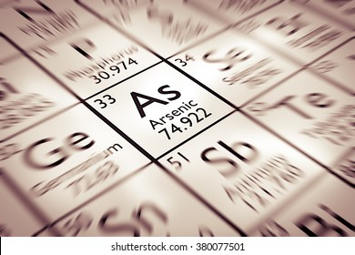 Focus on Arsenic Chemical Element from the Mendeleev periodic table