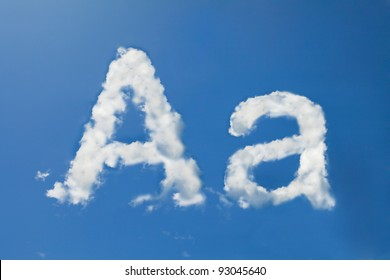 Cloud Font Images Stock Photos Vectors Shutterstock