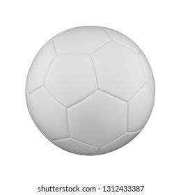 Ball White Soccer Stock Illustrations, Images & Vectors