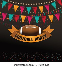football soccer party invitation background royalty stock