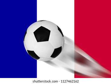 football world championship and franch flag background,gift cards,movement of football