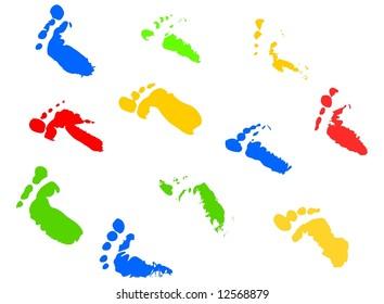 Footprints - jpeg version.