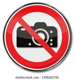 It is forbidden to photograph and do not take a picture