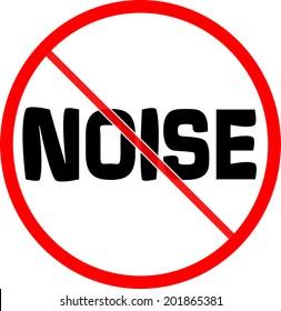 forbidden sign, No noise