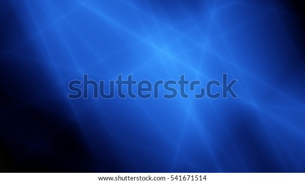 Force blue energy abstract art dark background