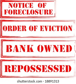 Foreclosure, Eviction Stamps