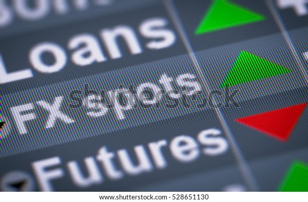 Foreign Exchange Spot Transaction Known Fx Stock