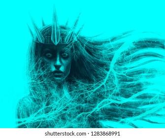 Demon Queen Stock Illustrations, Images & Vectors   Shutterstock