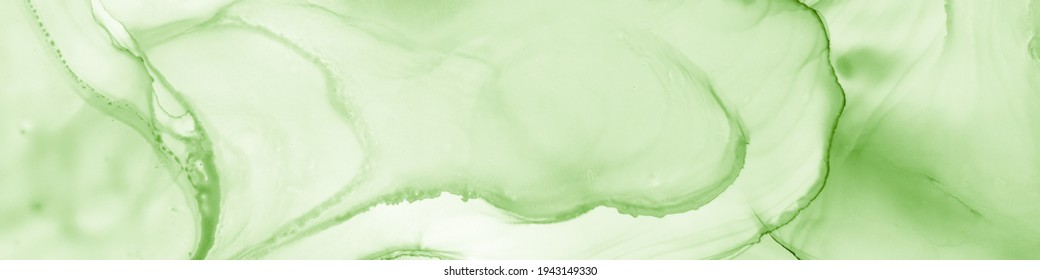 Forest Watercolor. Emerald Craft Textile. Floral Art. Pistachio Marble Image. Sophisticated Trendy Brochure. Green Fashion Tint. Mint Aquarelle Fabric. Lime Forest Watercolor.
