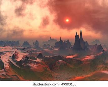 Forgotten Alien World