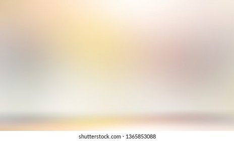 Formless blank 3d illustration. Interactive light abstract background. Creative space illustration.