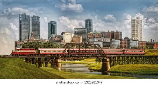 Fort Worth Skyline Train