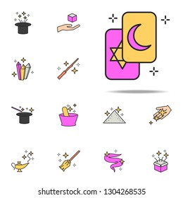 fortunetelling cards icon. magic icons universal set for web and mobile
