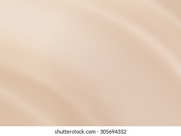 Foundation cream wave with close up shot can use for background, illustration and other