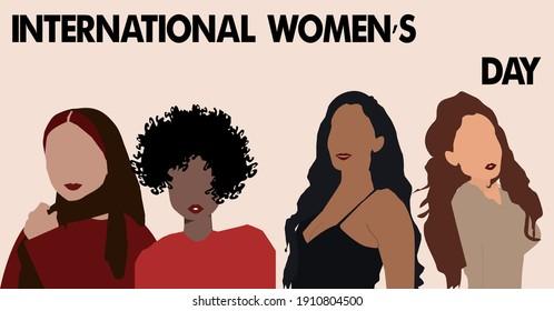 Four beautiful women who is very beautiful!