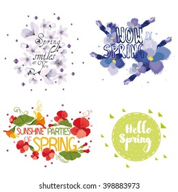 Four mnemonics on the concept of Spring season