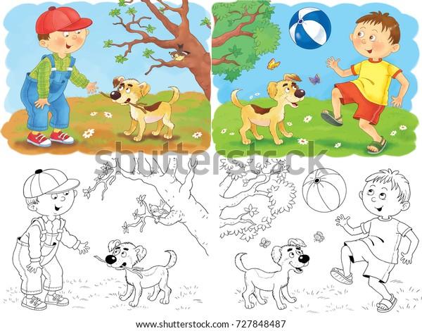 Seasons Coloring Page - ESL worksheet by niesers | 470x600