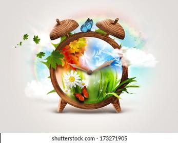 Four Seasons - Time concept design