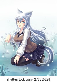 Fox School girl