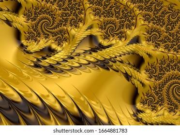 Fractal Abstract Pattern Wallpaper Art Background Fantasy