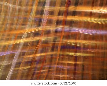 Fractal decorative background with the weaves on the fabric