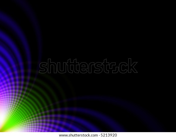 Fractal image of an abstract colourful background with copy space.