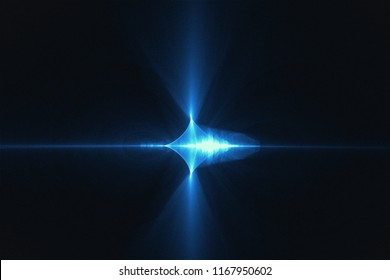 fractal light design background