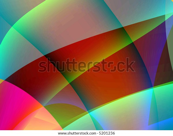 Fractal rendition of an absract reflection back ground