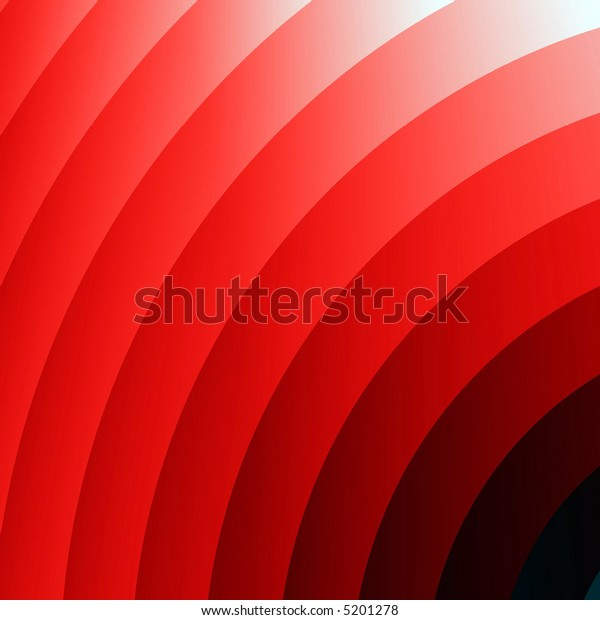 Fractal rendition of red lava ripples background