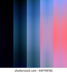 Fractured Blue and Pink Gradient Stripes Background