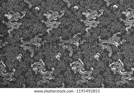 fc8a487fa Royalty Free Stock Illustration of Fragment Grey Chinese Silk ...