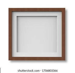 Frame mockups made with 3D modeling are suitable for high quality use.