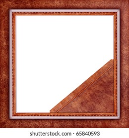 frame old leather