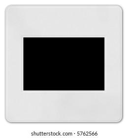 frame for slide isolated