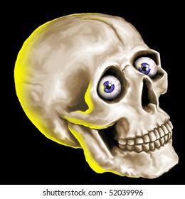 freaky skull