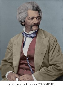 Frederick Douglass 18 18- 1895 escaped slave and abolitionist defied stereotypes about African Americans in the decades prior to the US Civil War.