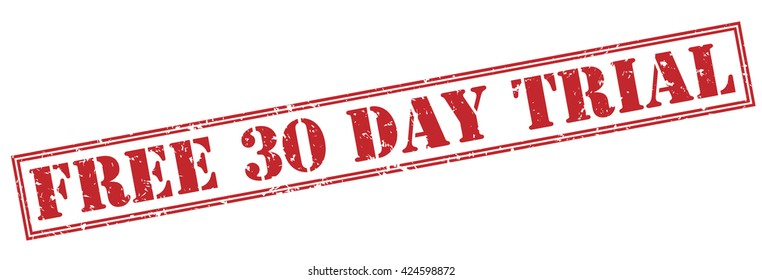 free 30 day trial stamp